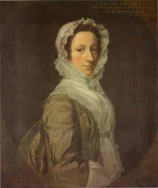 Portrait of janet dick 1748 xx uk
